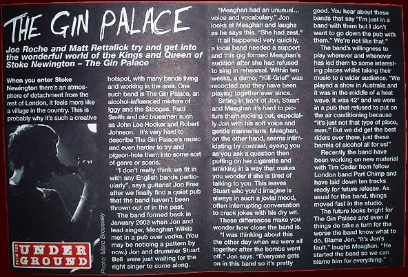 Welcome to the Gin Palace website +